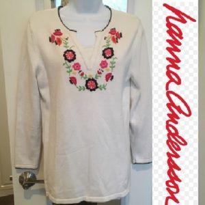 Organic tunic sweater